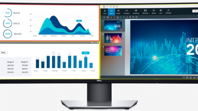 Dell - first 49-inch ultra-wide monitor- QHD