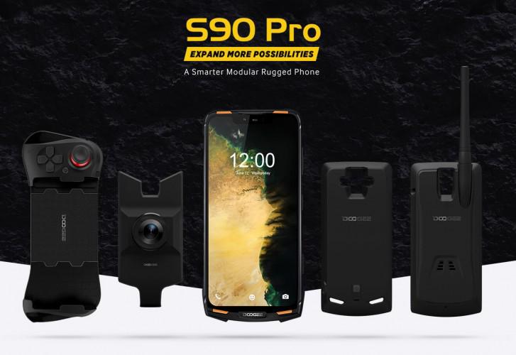 هاتف Doogee S90 Pro يضم معالج Helio P70 ويدعم مقاومة الماء حتى أسبوعين تقريبا