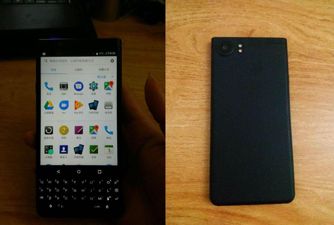 Entirely Black Version Of BlackBerry KEYone Leaks Online