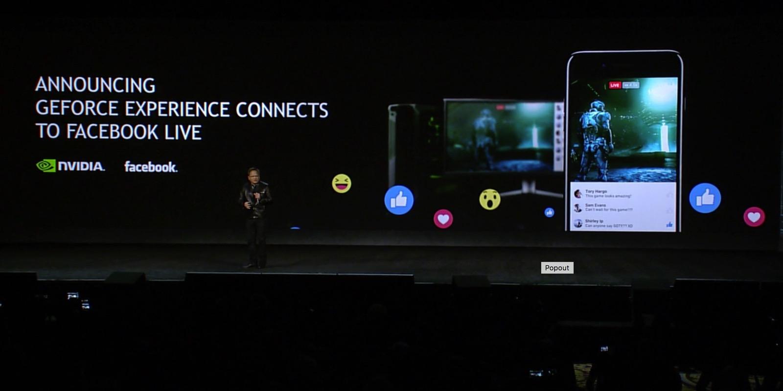 Facebook Live-Geforce