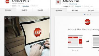 Fake Adblock Plus Chrome extension