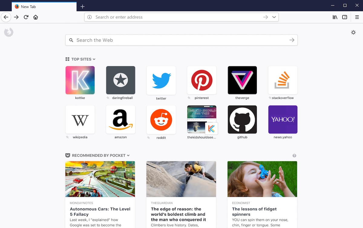 Faster Firefox Quantum browser is now available