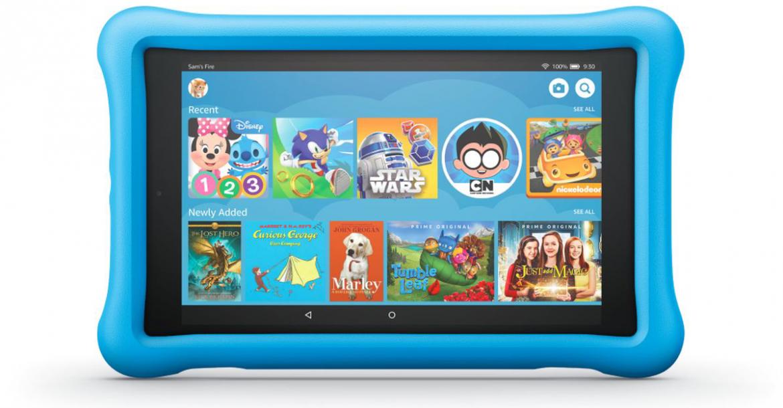 Amazon يقدم خصم على أجهزة Fire اللوحية المخصصة للأطفال