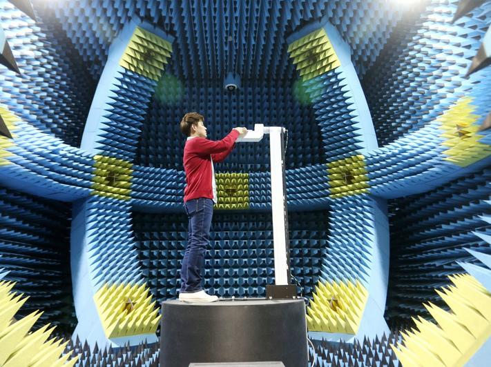 Foam-room-measures-radiation