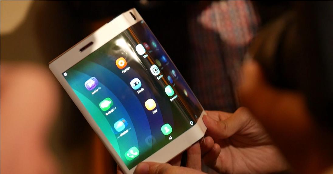 Foldable screens