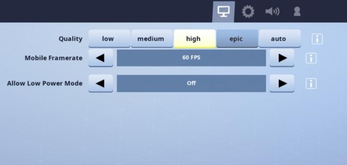 Fortnite- 60fps - on -iOS