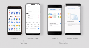 Four-Nokia-smartphones-Android-9-Pie-HMD-Global