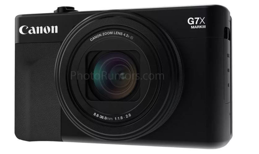 تسريب: Canon تستعد لإطلاق كاميرا G7 X Mark III في معرض +CP القادم