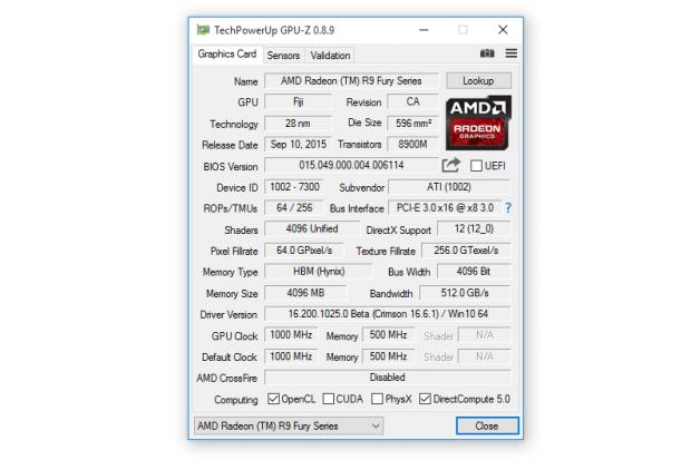 GPU-Z v0.8.9