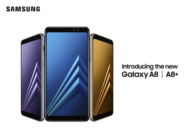 سامسونج تُطلق هاتفي جالكسي A8 وA8 بلس لعام 2018 في الإمارات