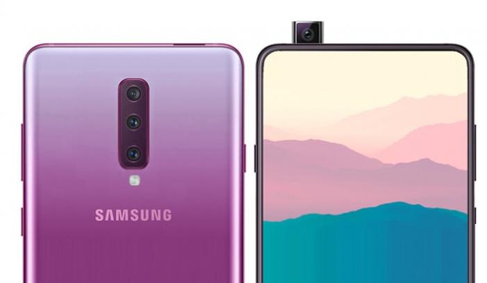 هاتف Galaxy A90 يأتي بشاشة 673 إنش مع تقنية شحن أسرع