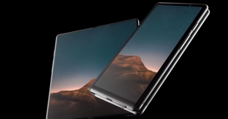 فيديو يستعرض نموذج لتصميم هاتف Galaxy F المرتقب