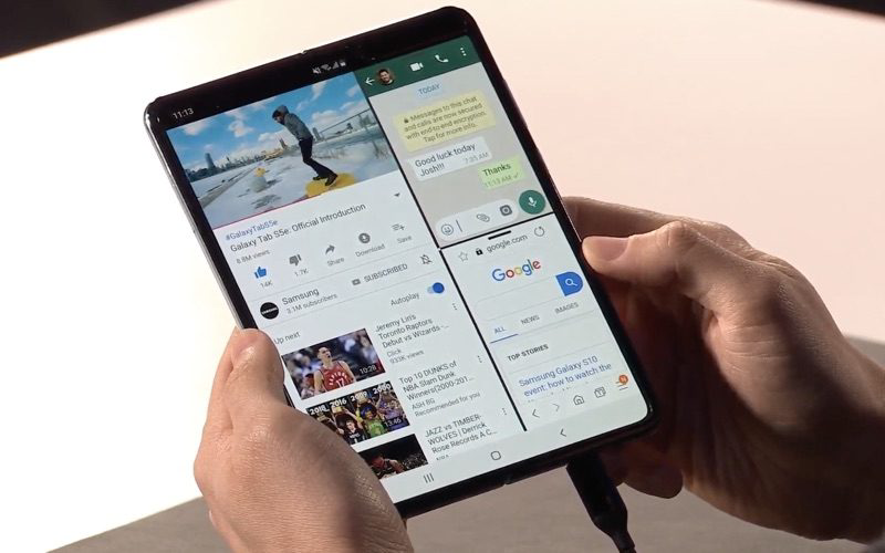 Galaxy Fold -infinity display
