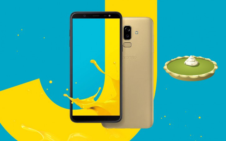 Galaxy J8 Android 9 Pie