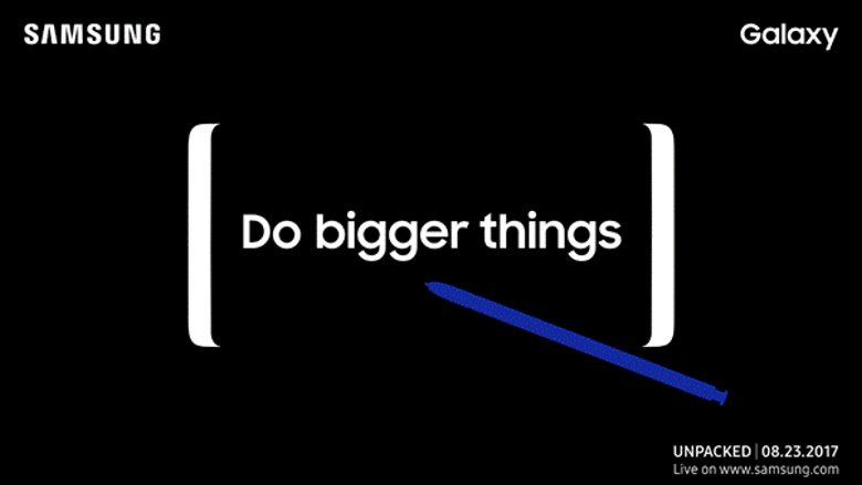 Galaxy Note 8 gets officially teased