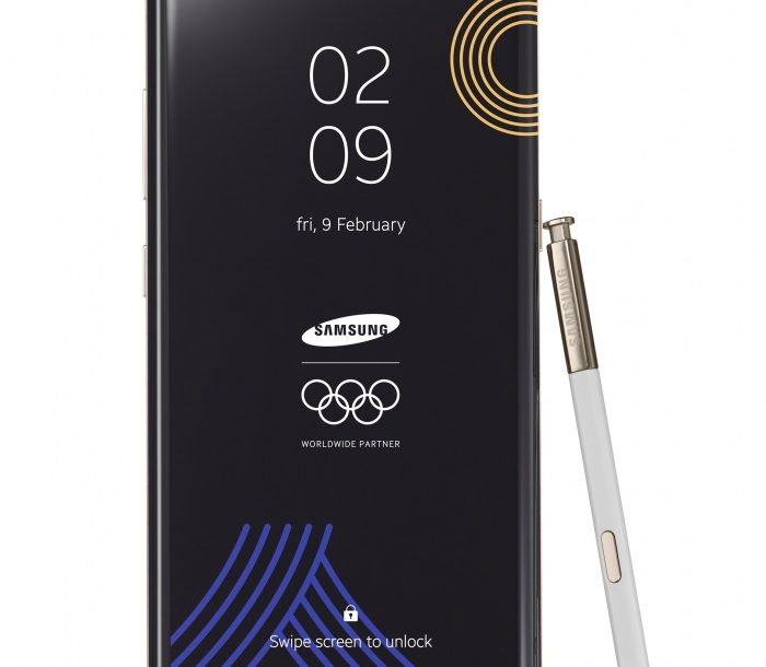 Galaxy Note8 PyeongChang 2018 Limited Edition