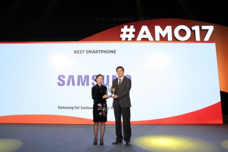 "Galaxy S8 and Galaxy S8+ get ""Best Smartphone"" award at MWC Shanghai"