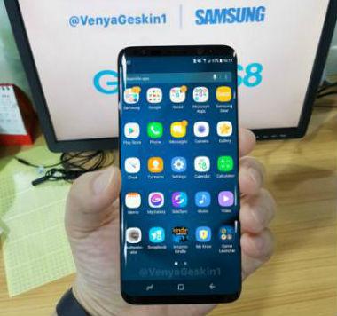 Galaxy S8 -leak