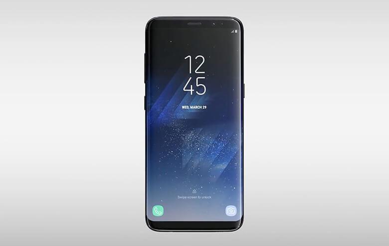 Galaxy S8 screen