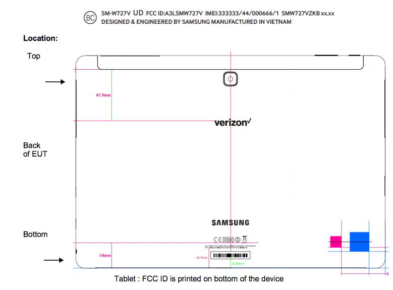 Galaxy TabPro S2-FCC-leak