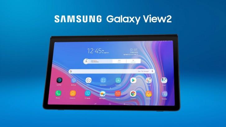 الكشف عن سعر Galaxy View 2 وموعد الإعلان الرسمي عن الجهاز اللوحي