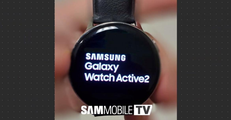 تسريبات مصورة لساعة سامسونج Galaxy Watch Active 2 - التقنية
