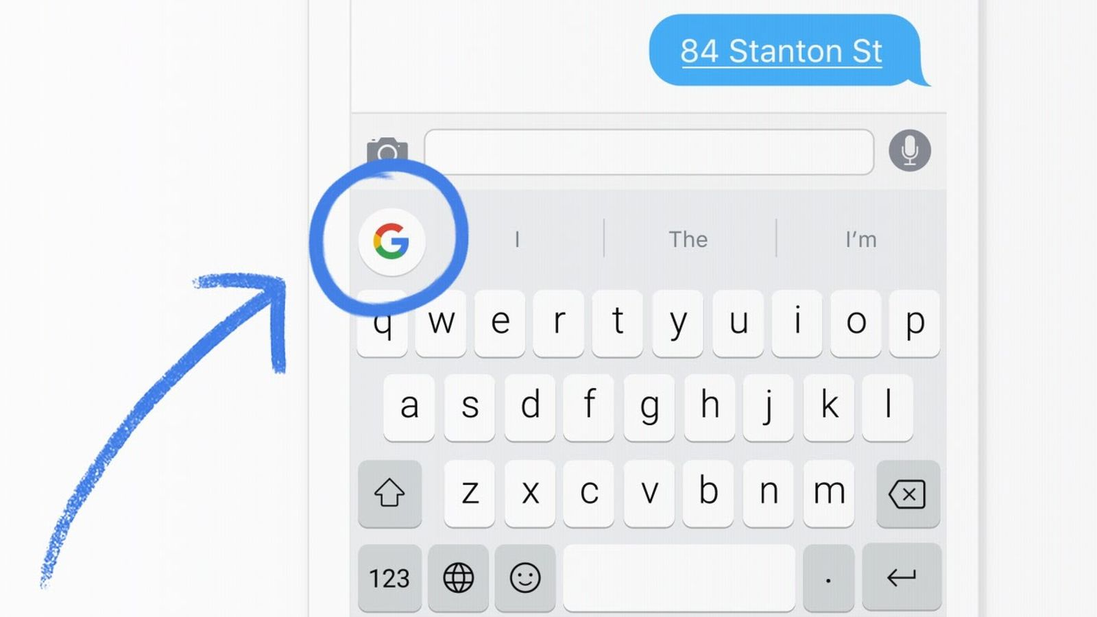 Gboard keyboard-iOS