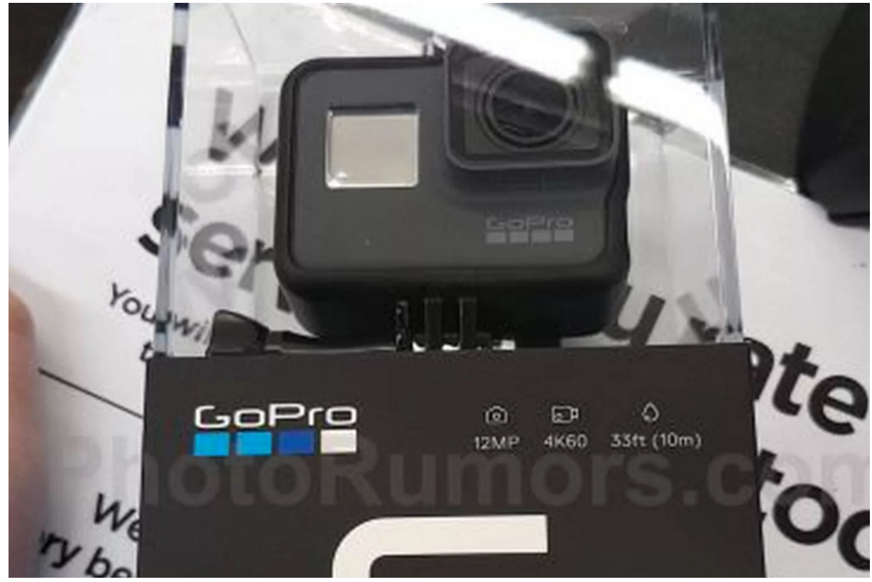 GoPro Hero 6 action camera