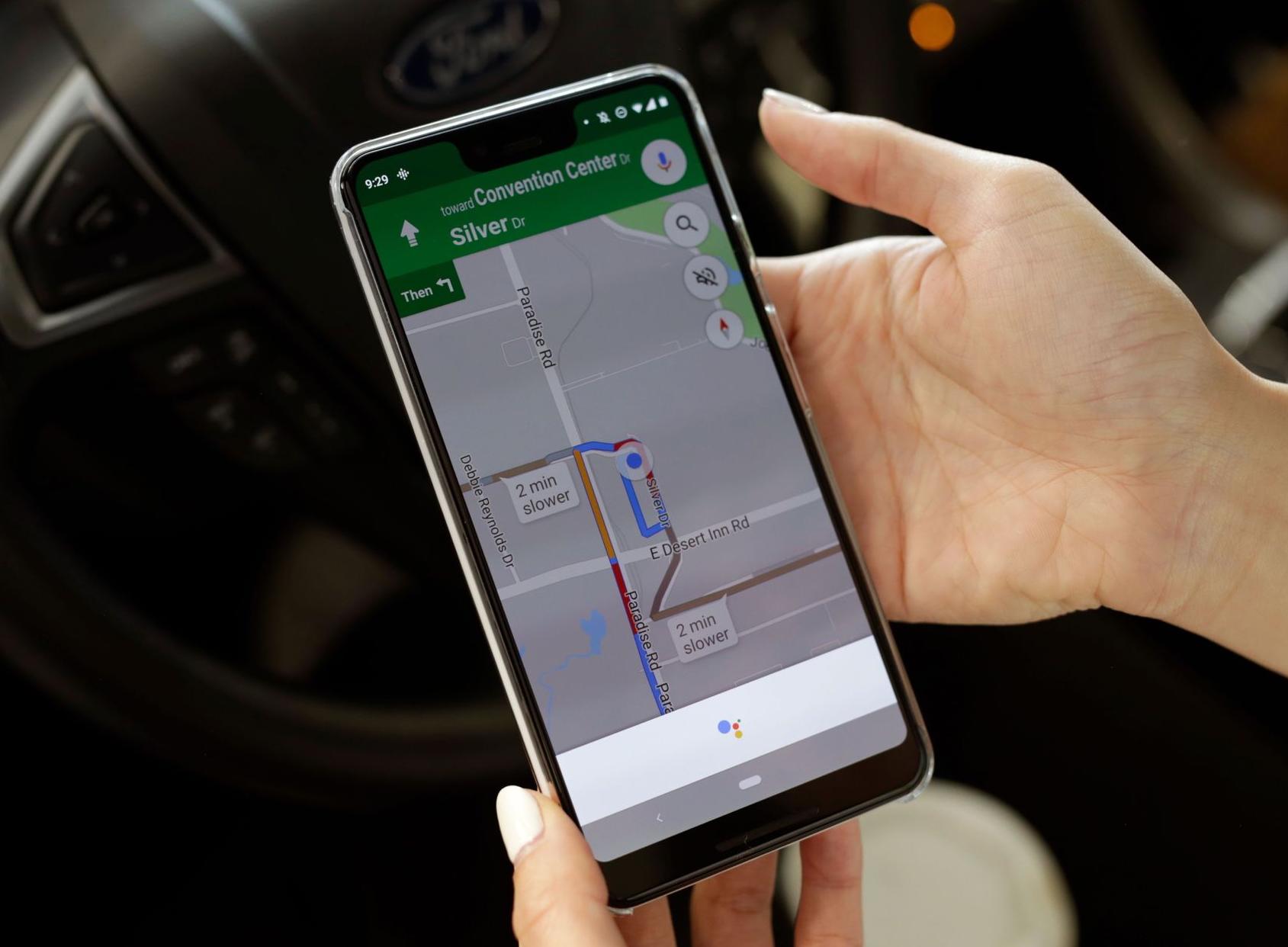Google Assistant Google Maps apps