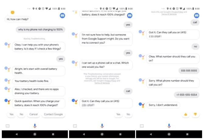Google Assistant can now help troubleshoot Pixel 2 phones