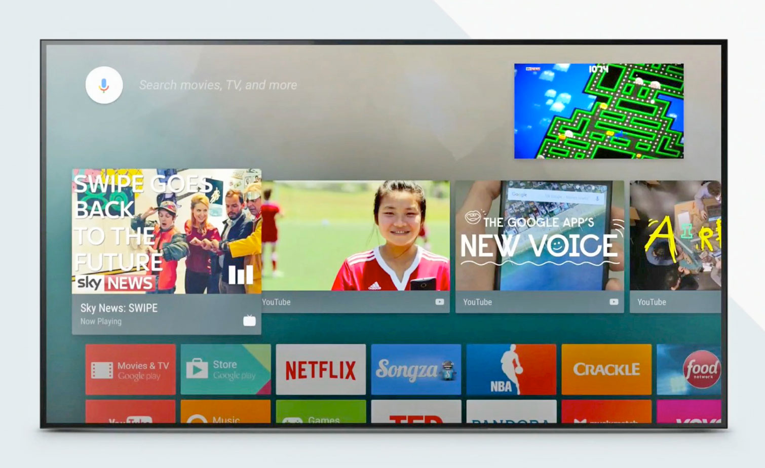 Google Cast -Andriod TV