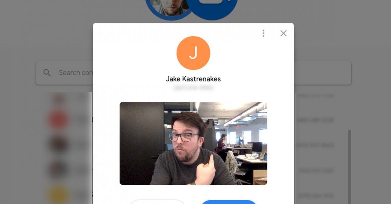 جوجل تطلق تطبيق Duo لمحادثات الفيديو على المتصفح