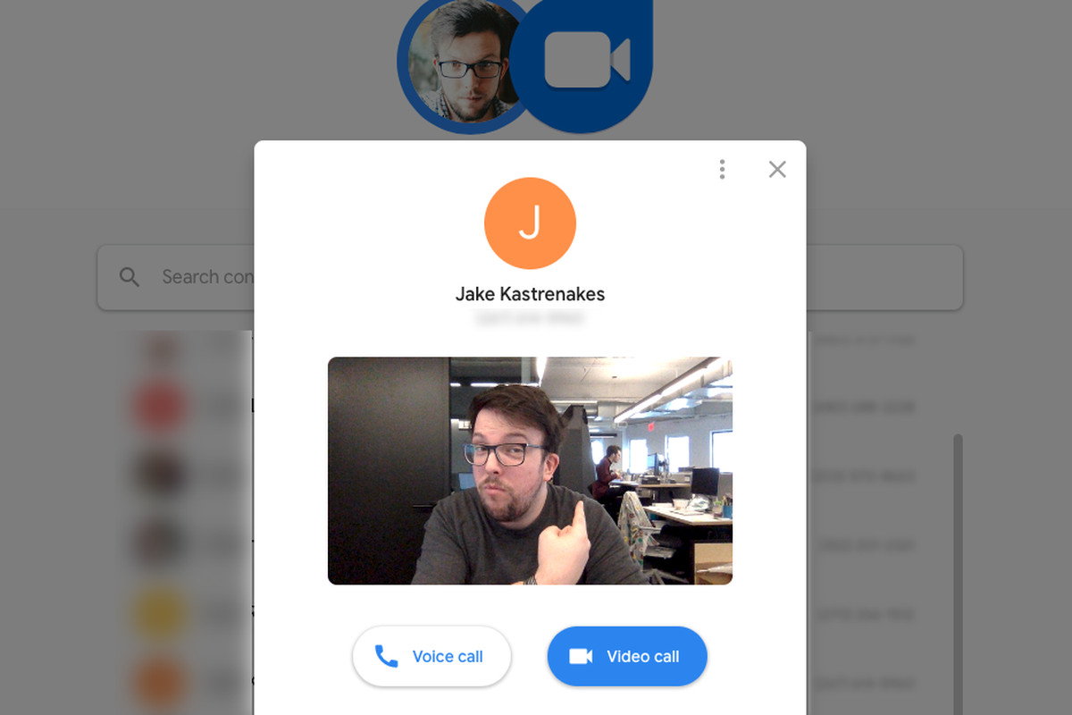 Google Duo video chat is now available on the web