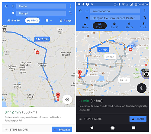 Google Maps gets new 'motorcycle mode' feature