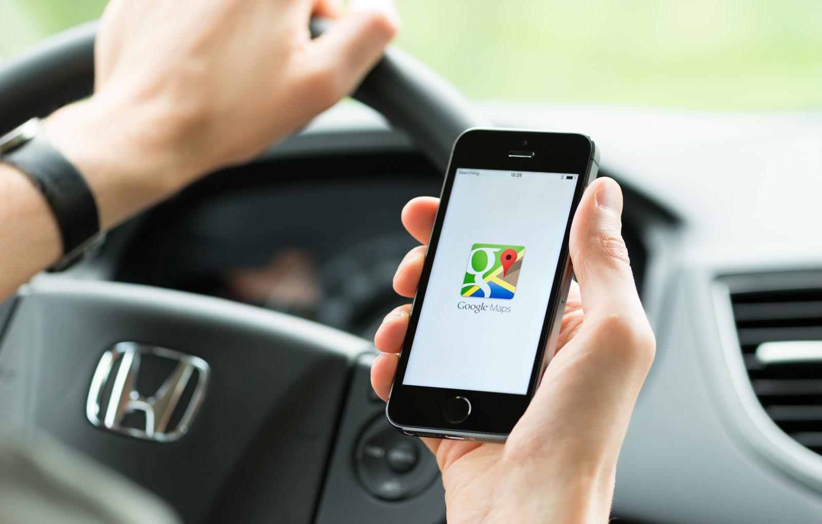 Google Maps- iOS