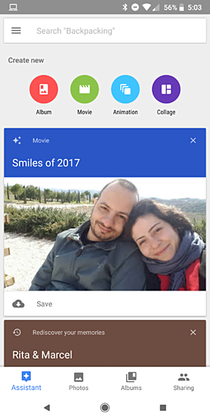 Google Photos' 'Smiles of 2017' movie rolling out for some