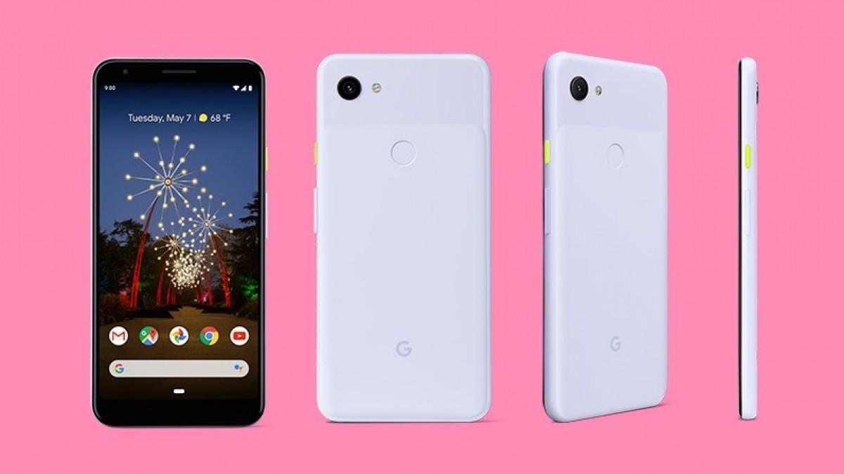 Google Pixel 3a in White