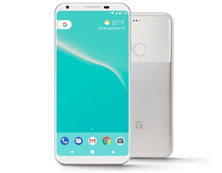 Google Pixel XL 2 Design