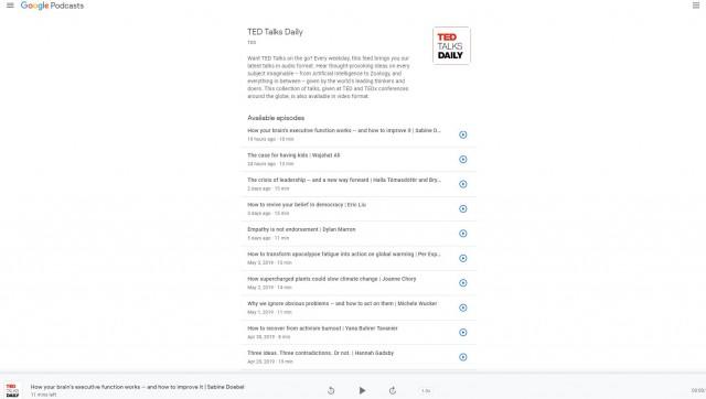 الآن يمكن عرض البودكاست نتائج Google-Podcasts-on-d