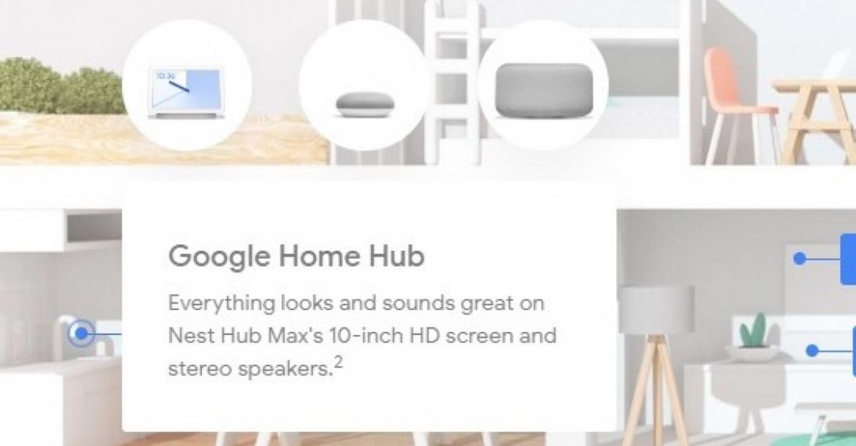 جوجل تكشف عن تفاصيل حول Nest Hub Max القادم عن طريق الخطأ