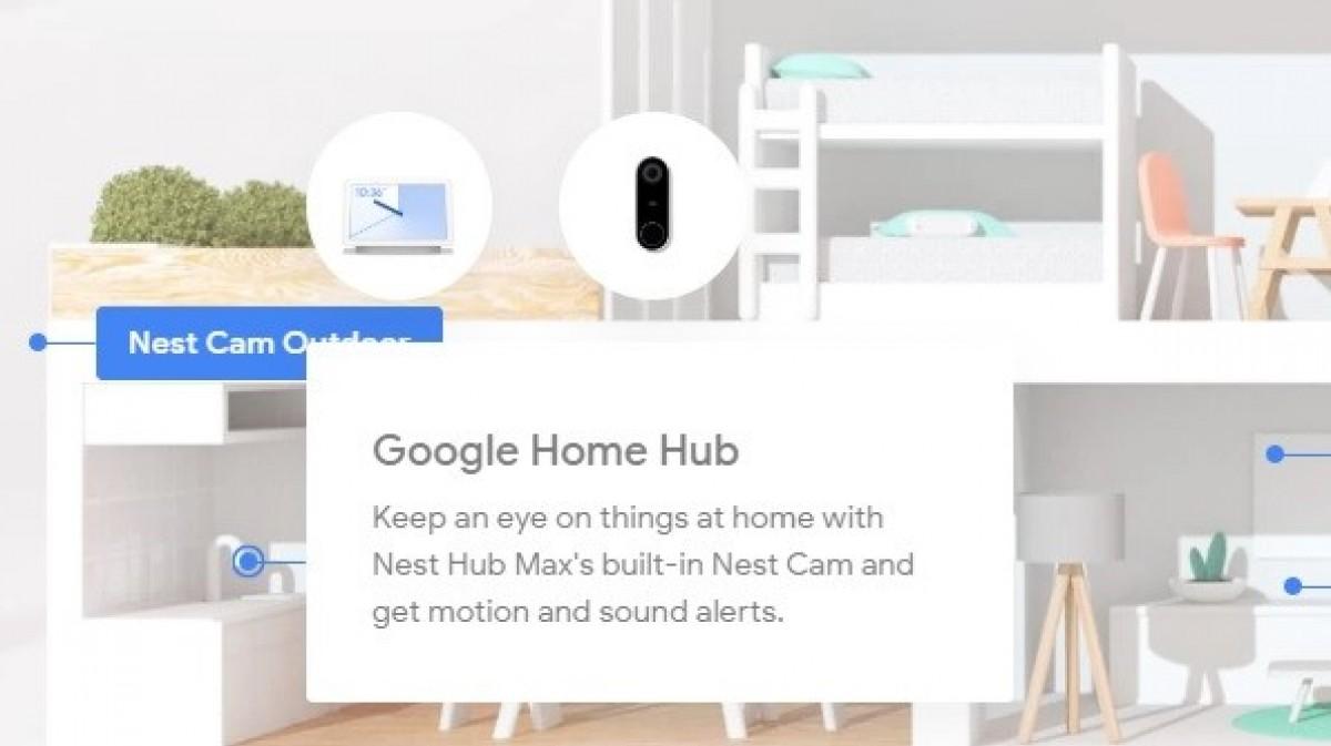 Google -leaks Nest Hub Max