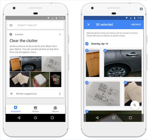 Google photos AI assistant