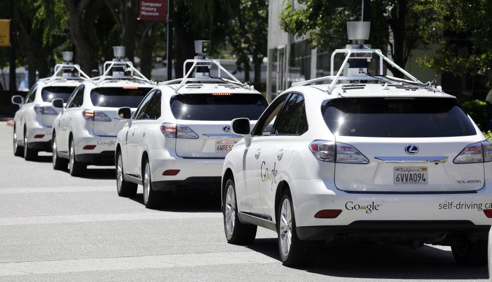 Google-self-driving cars