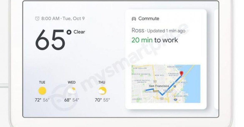 جوجل قد تطلق جهاز Home Hub لتتنافس مع Echo Show