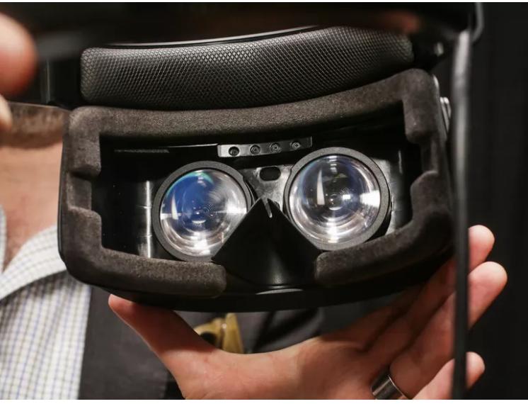 HP mixed-reality headsets