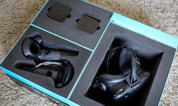 HTC Vive- unboxing