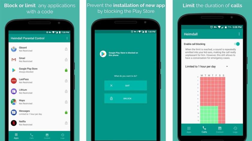 Heimdall Parental Control - للتحميل أفضل خمس تطبيقات وألعاب هذا الأسبوع لمستخدمي هواتف الأندرويد