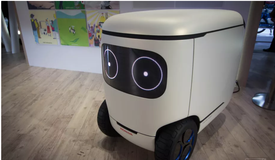 Honda made a very cute self-driving cooler