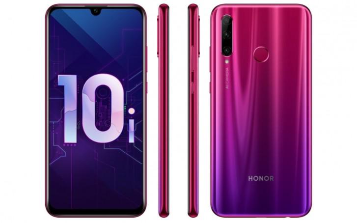 Honor تقدم هاتف Honor 10i بكاميرة ثلاثية وسعر 310 دولار تقريبا