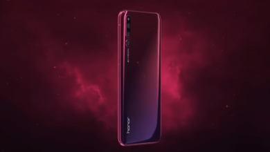 Honor Magic 2- latest teaser -gradient color